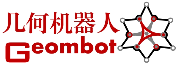 几何机器人Logo-s