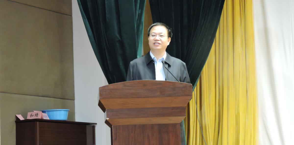中国少年儿童发展服务中心副主任孙聚成发表讲话