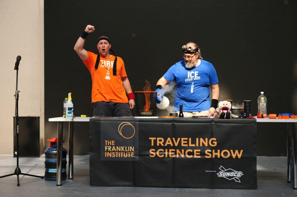 第二届城市科学节美国富兰克林科学秀